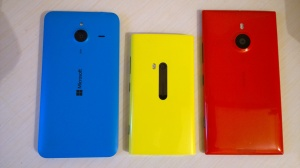 Lumia 640 XL design comparison